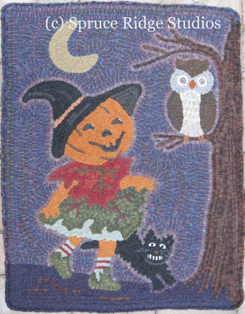 Bewitched Rug Hooking pattern