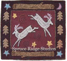 Deer Season rug