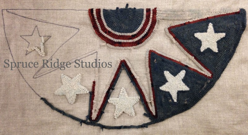 Old Glory Bunting sample