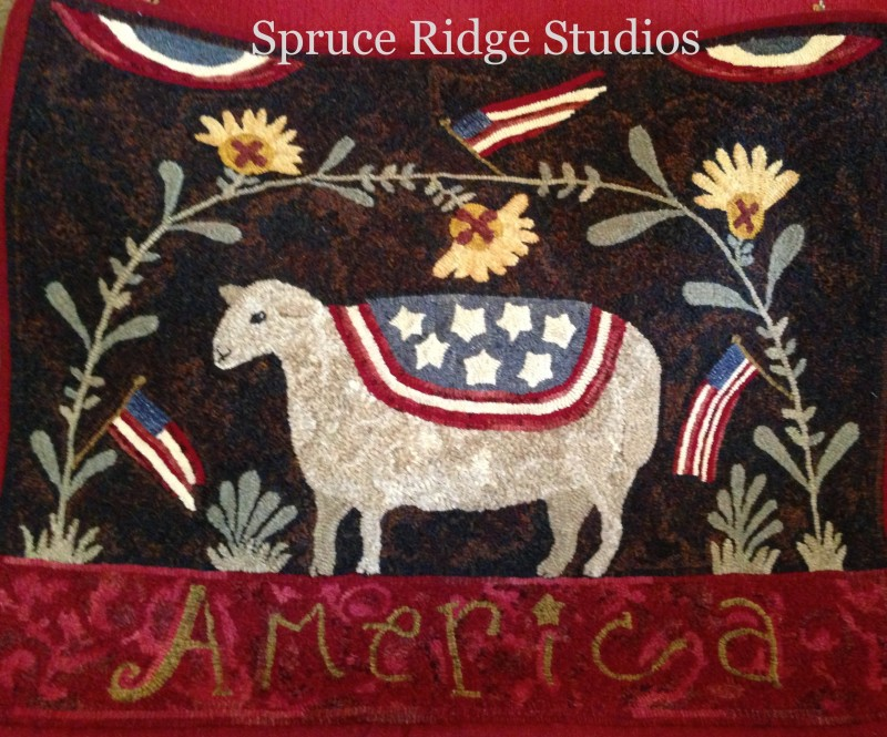 American Sheep sample Kathleen Keithly