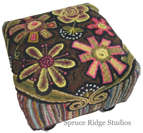Annie's Flower Power Foot Stool