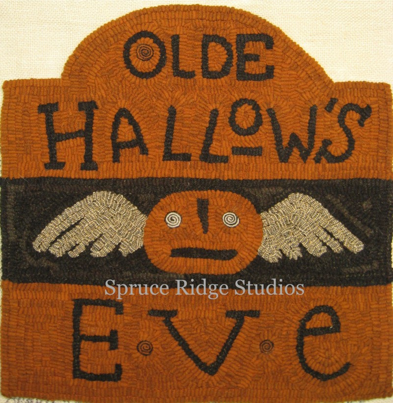 Olde Hallow's Eve hooked by K Miller