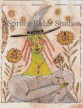 Sunflower Witch inspiration