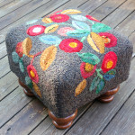 Teagarden Square Footstool