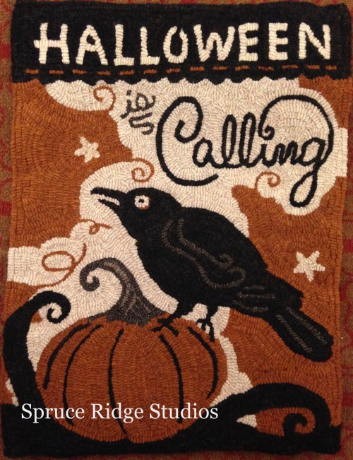 Halloween Is Calling hooked by Kris Miller