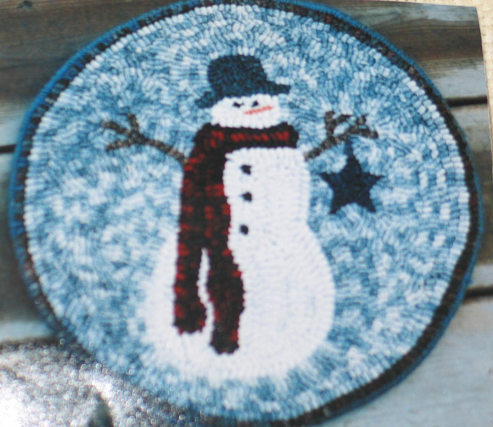Snowman chair pad