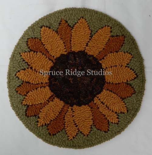 sunflower chair pad