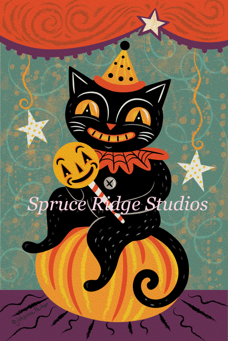 JParker Pumpkin Sitter Jackitty Cat – watermarked