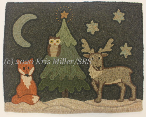 Woodland Winter Night Sample watermarked
