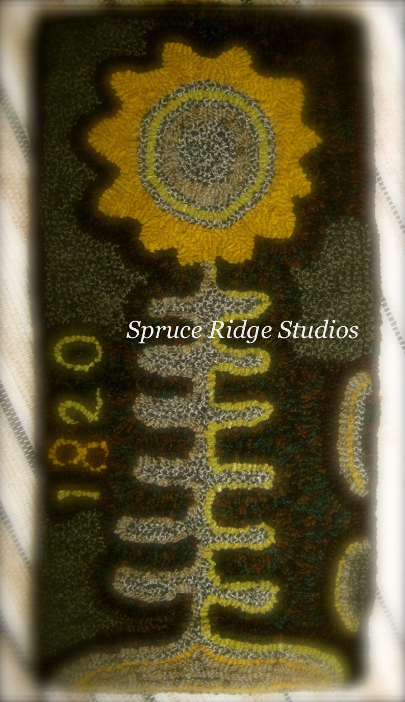 1820 Sunflower-Red House Wool Studio
