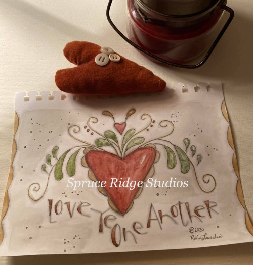 Love Ye One Another-Robin Leuschen inspriation