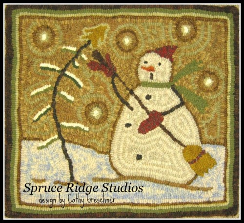 Mr. Chill Snowman-Red House Wool Studio
